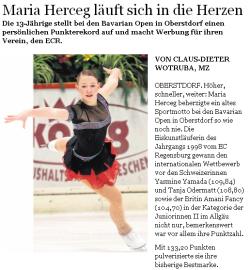Mittelbayerische Zeitung vom 08.02.2012