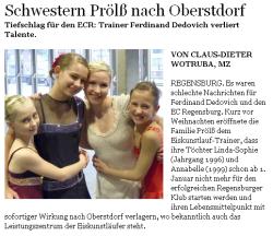Mittelbayerische Zeitung vom 18.01.2011