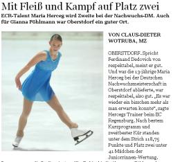 Mittelbayerische Zeitung vom 20.12.2011