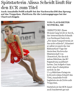 Mittelbayerische Zeitung vom 21.12.2010