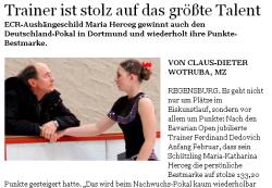 Mittelbayerische Zeitung vom 06.03.2012